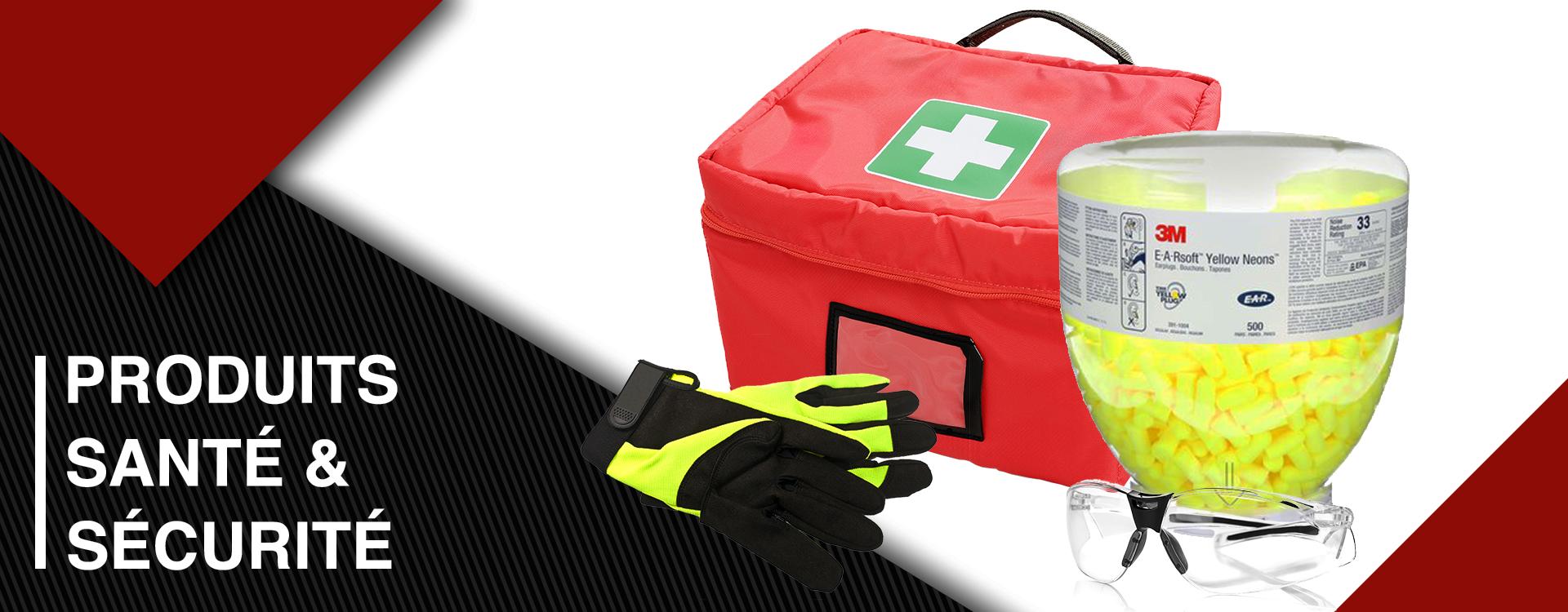 Produits santé et sécurité
