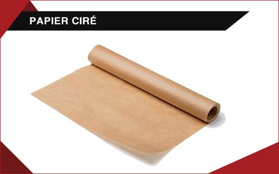 Feuilles et rouleaux de papier