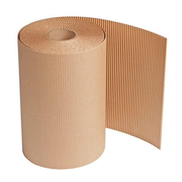 Corrugated cardboard roll, C-Flute