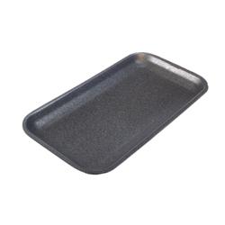 Black Styrofoam Tray 17S